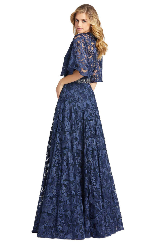 MacDuggal 79218D Dress Navy