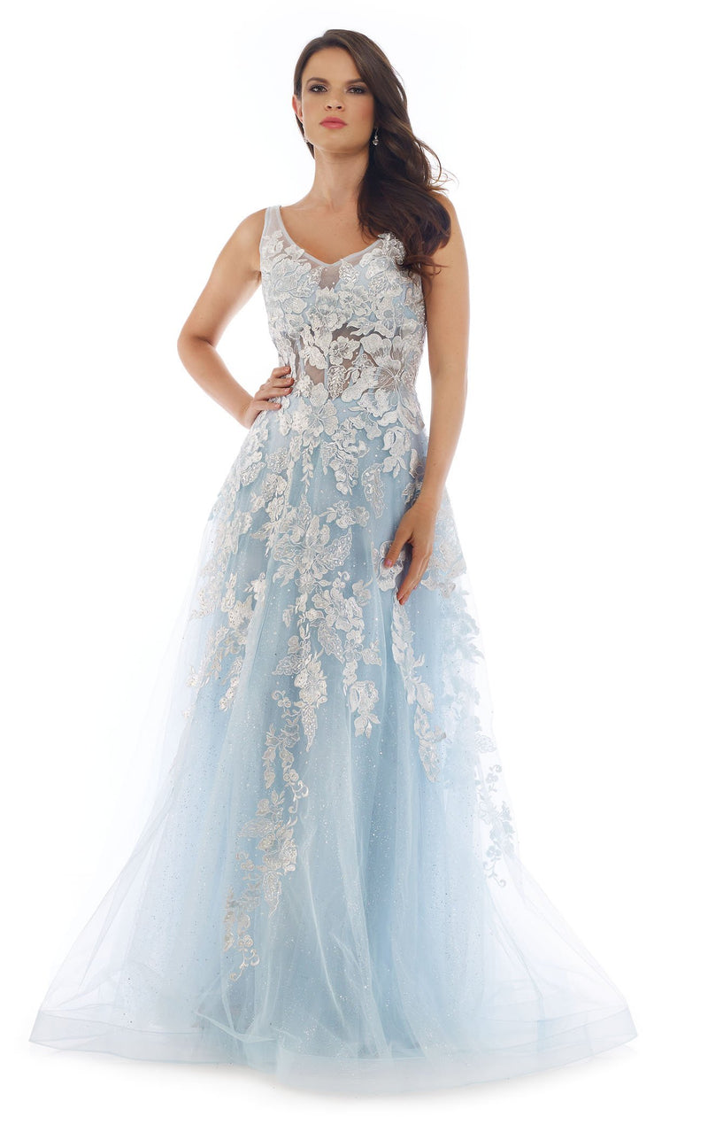Morrell Maxie 16254 Dress Ice-Blue