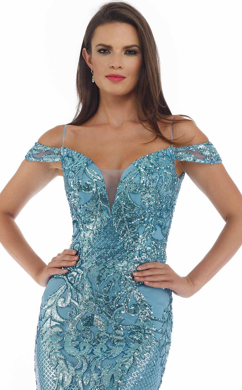 Morrell Maxie 16276 Dress Blue-Silver