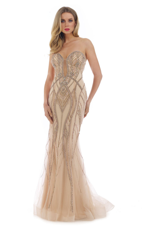 Morrell Maxie 16280 Dress Champagne
