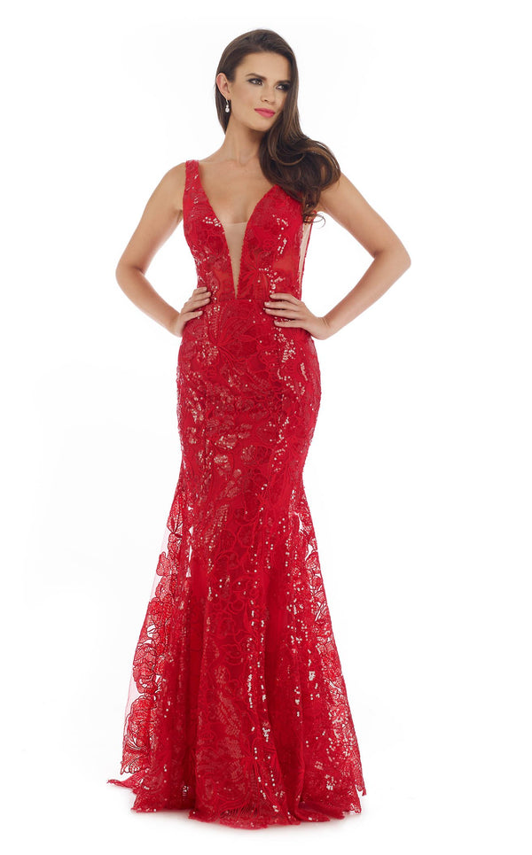 Morrell Maxie 16287 Dress Red