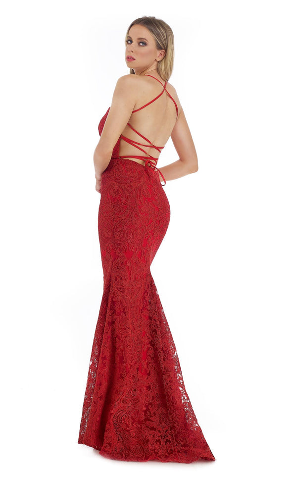 Morrell Maxie 16288 Dress Red