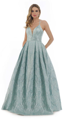 Morrell Maxie 16297 Dress Mint-Silver