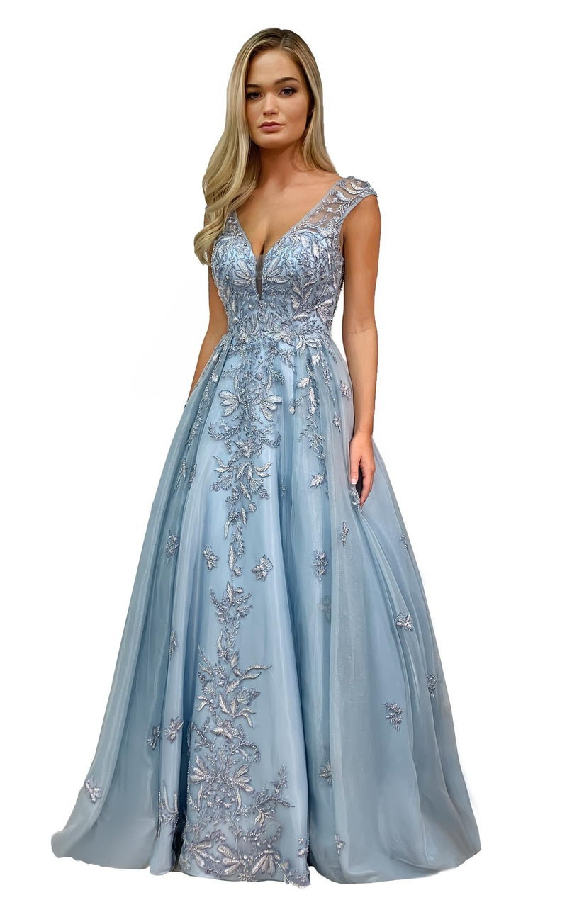 Morrell Maxie 16301 Dress Ice-Blue