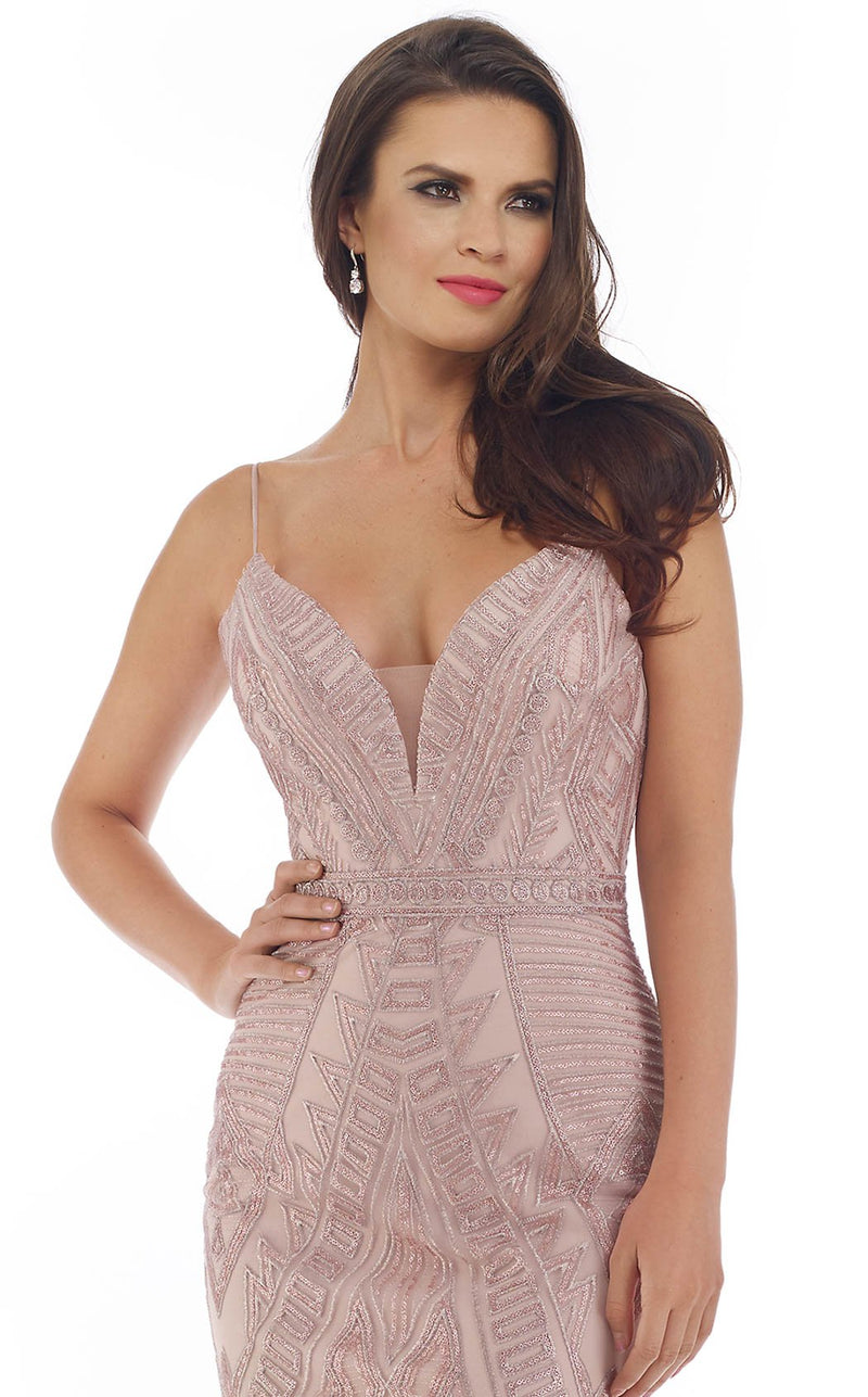 Morrell Maxie 16307 Dress Dusty-Rose