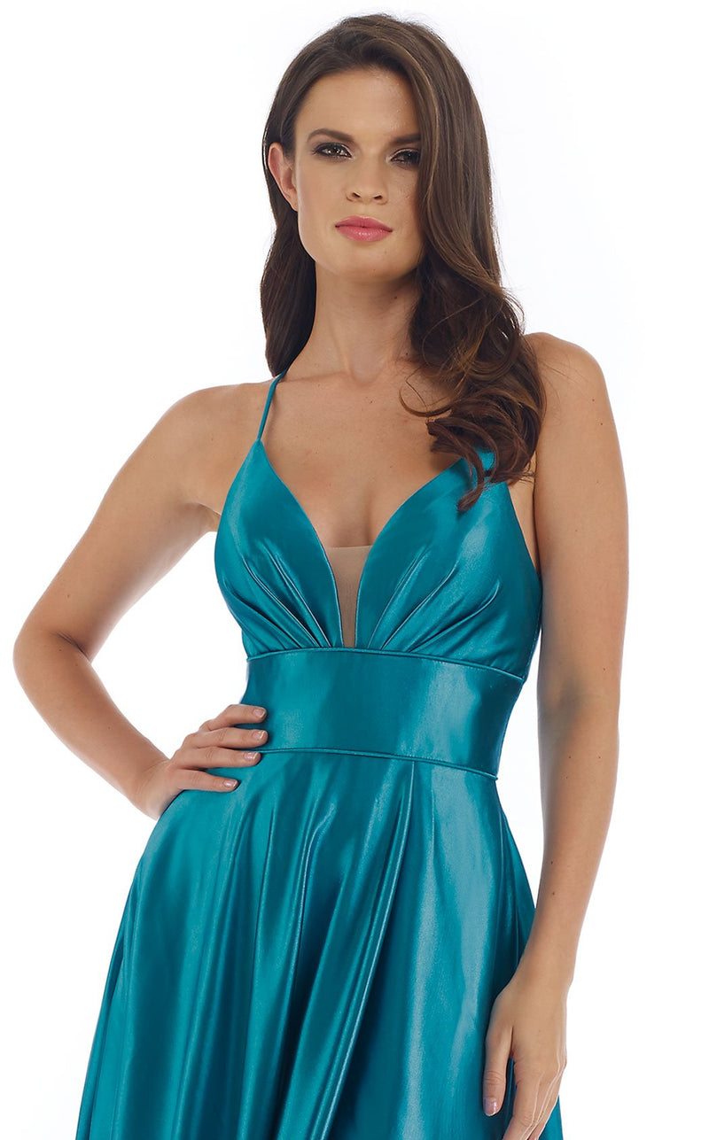 Morrell Maxie 16335 Dress Teal