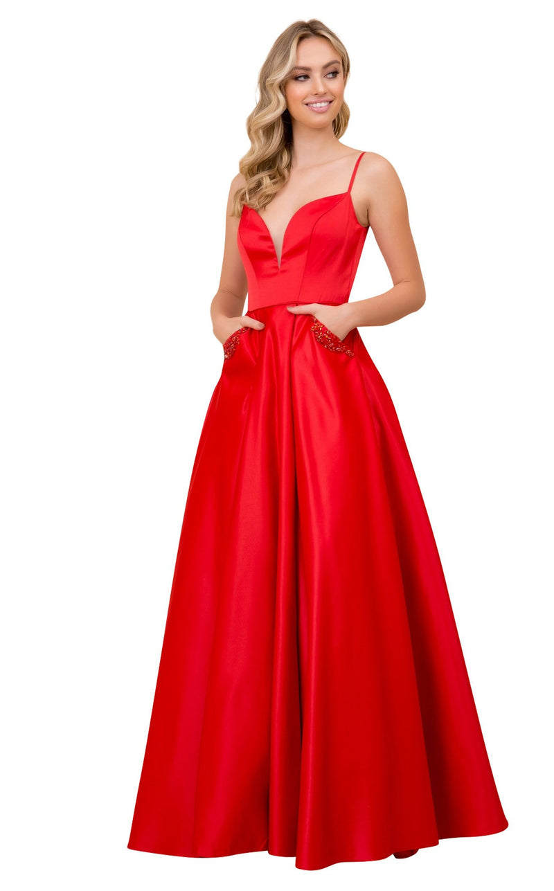 Nox Anabel N308 Dress Red