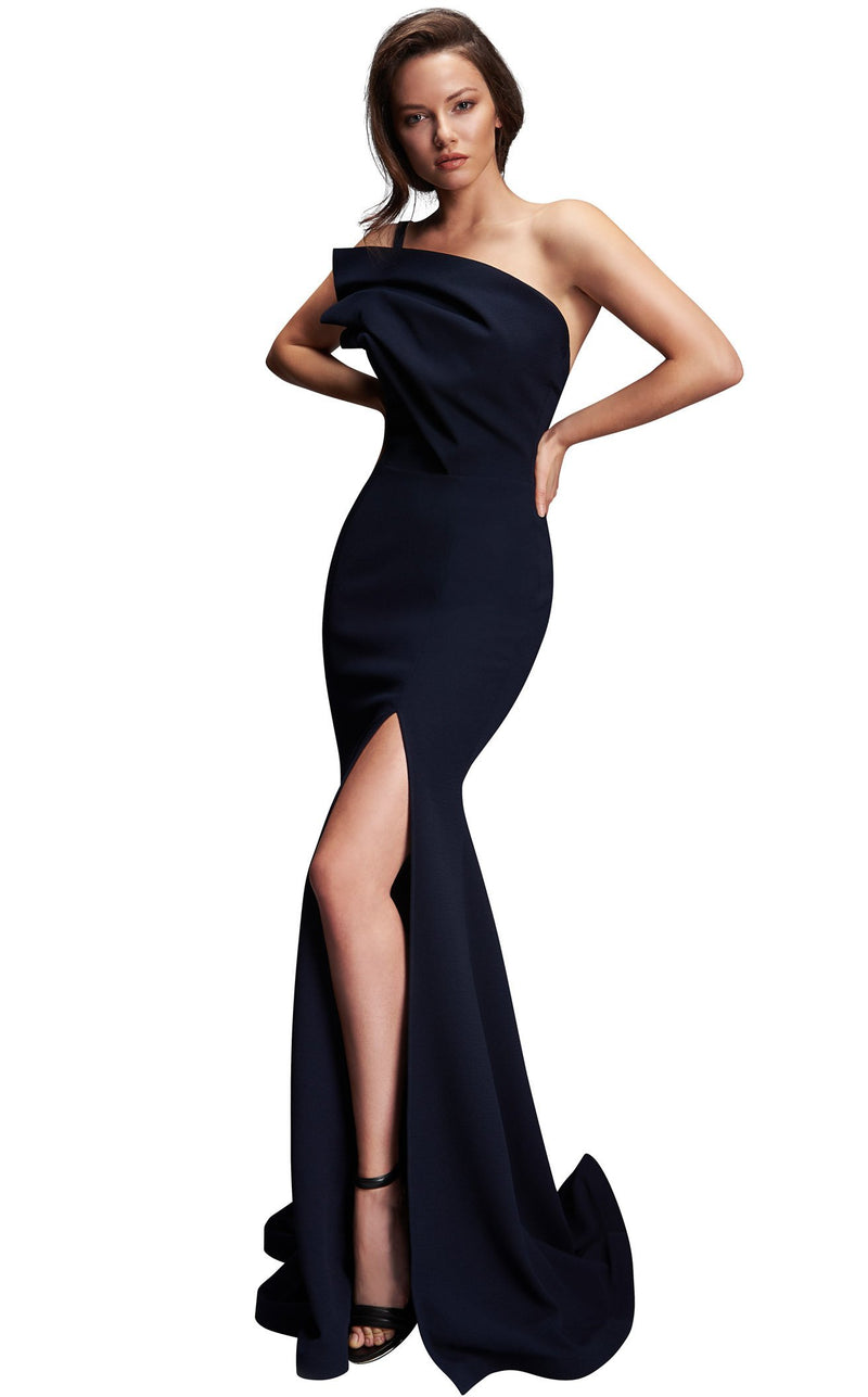 Nicole Bakti 638 Dress Navy