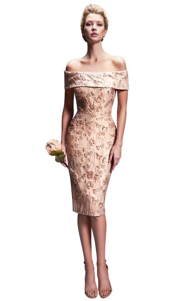 Nicole Bakti 6878 Dress Blush