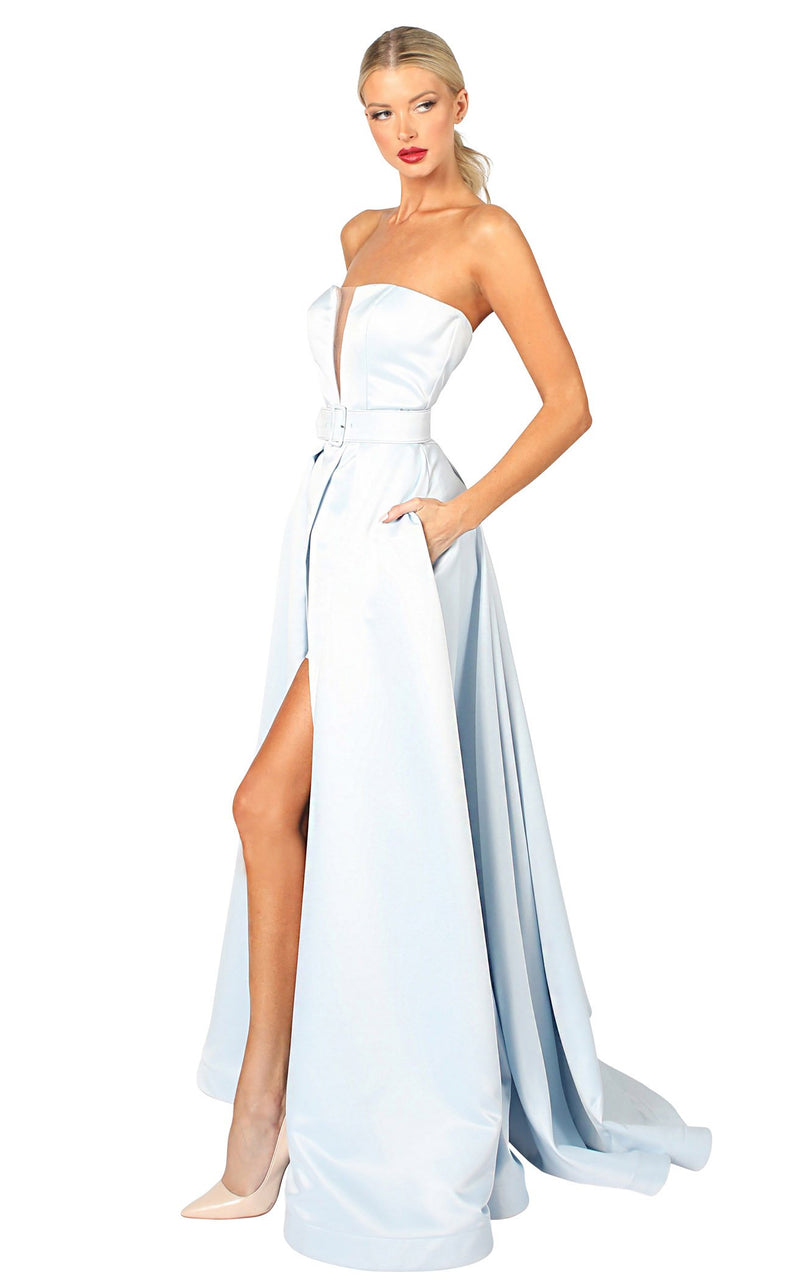Nicole Bakti 6977 Dress Sky-Blue