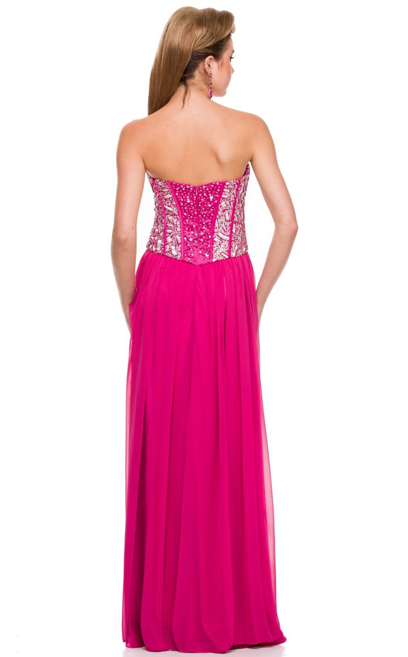 Nox Anabel 2593 Dress Fuchsia