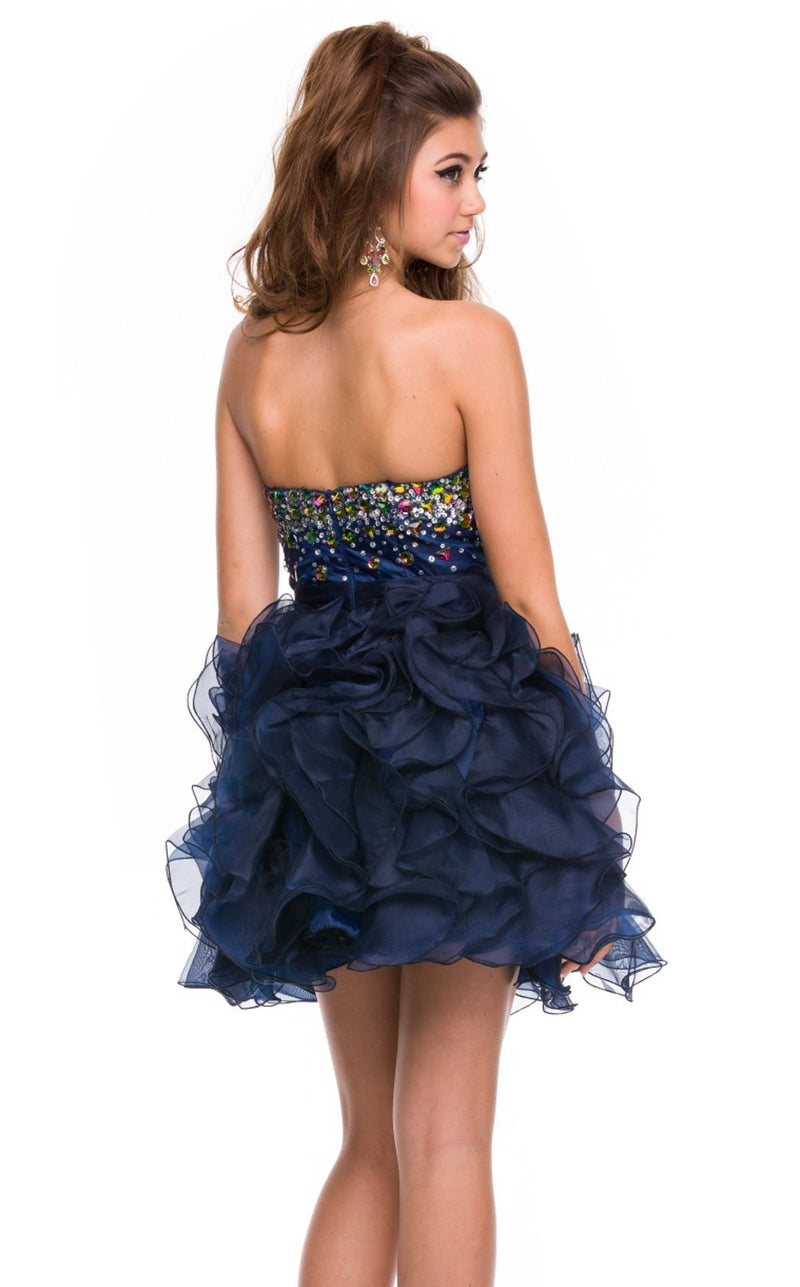 Nox Anabel 2853 Dress Navy-Blue