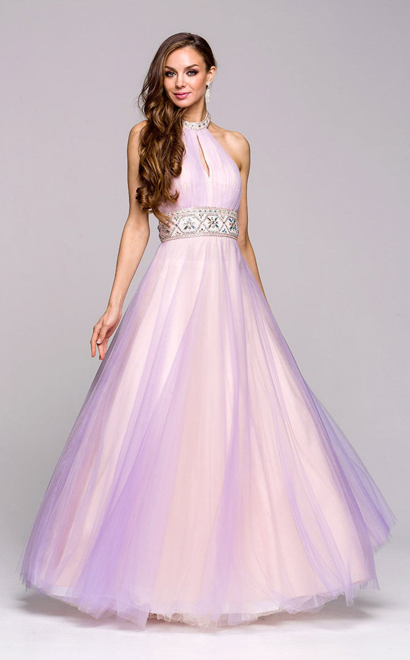 Nox Anabel 3135 Dress Lilac-Nude
