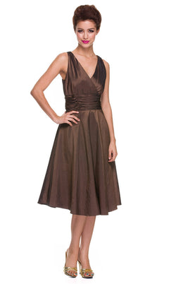 Nox Anabel 5068 Dress Brown