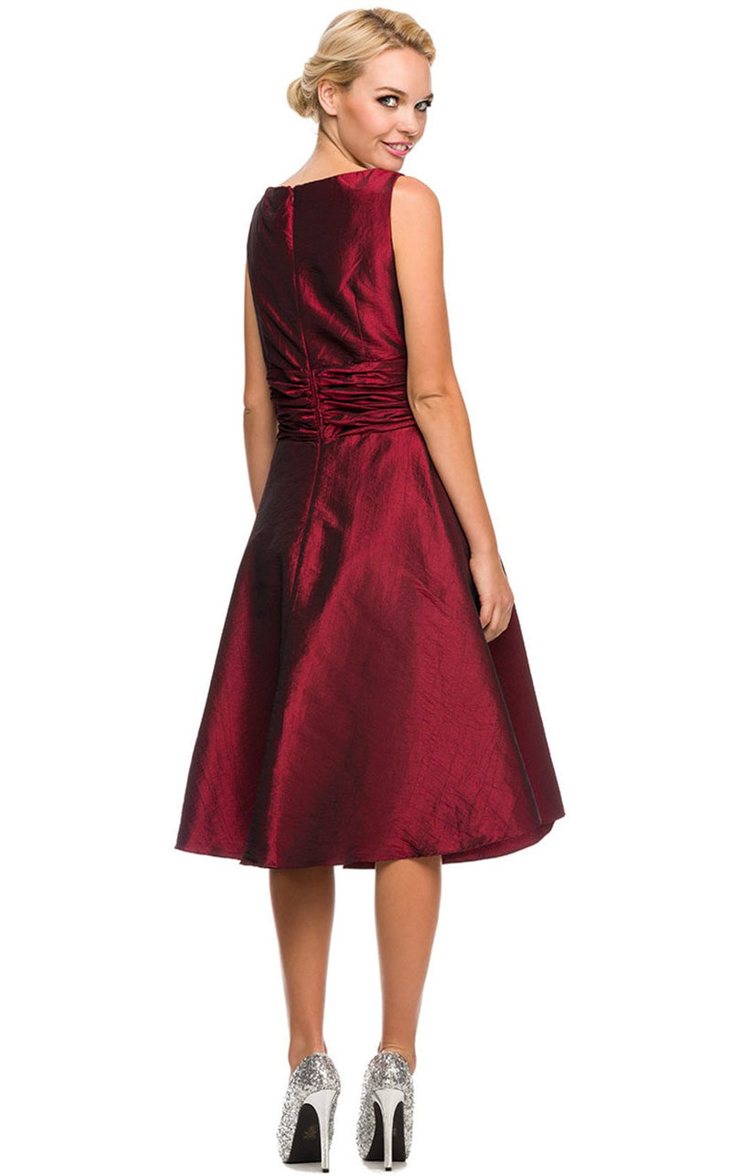 Nox Anabel 5068 Dress Burgundy