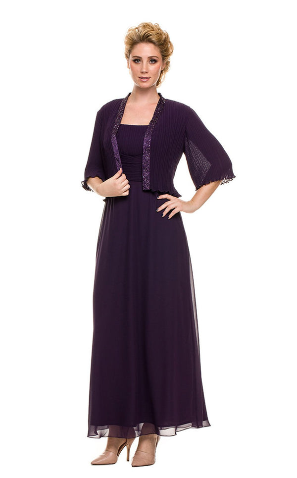 Nox Anabel 5099 Dress Plum