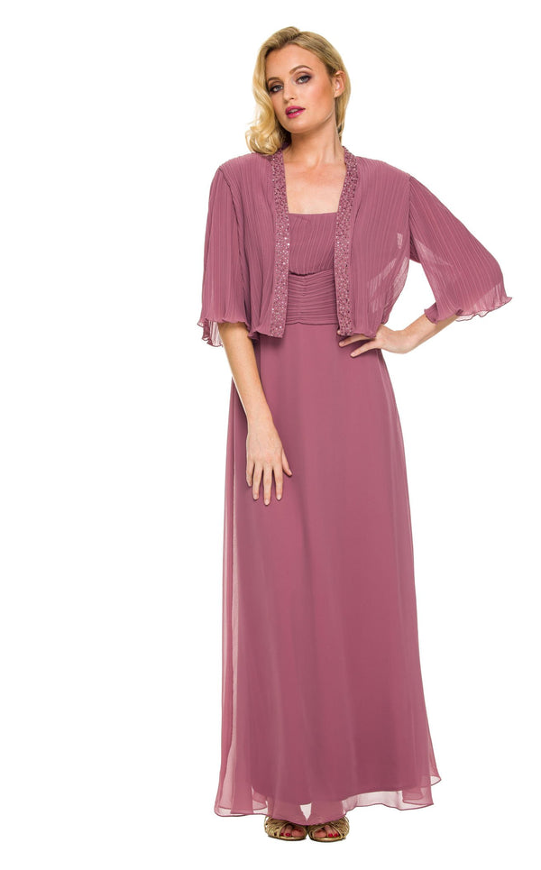 Nox Anabel 5099 Dress Rose-Wood