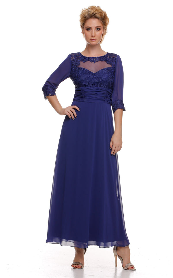 Nox Anabel 5101 Dress Royal-Blue