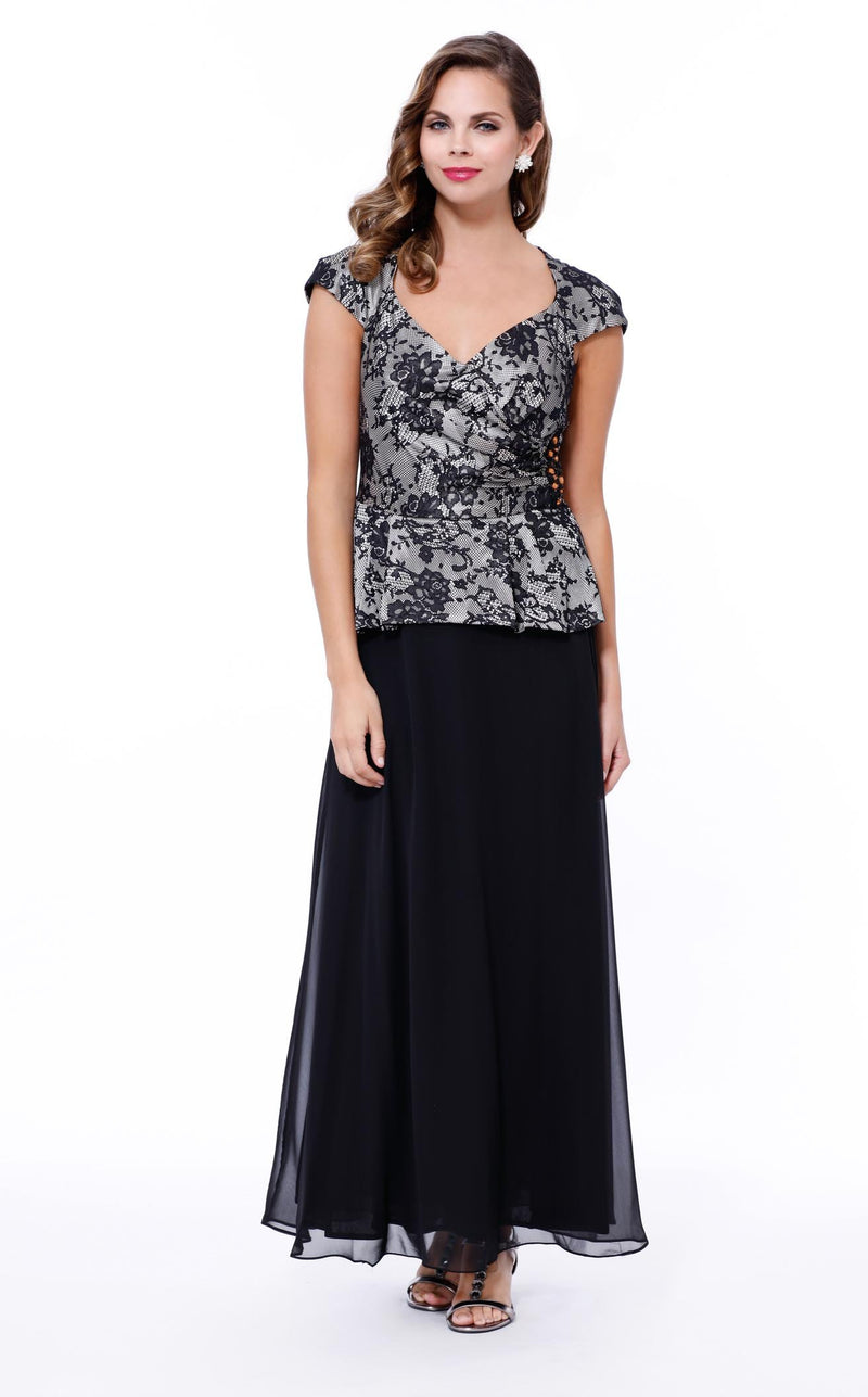 Nox Anabel 5102 Dress Black-Silver
