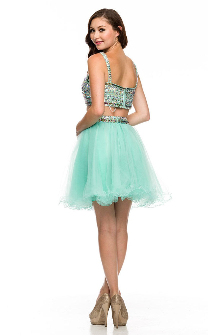 Nox Anabel 6031 Dress Mint-Green