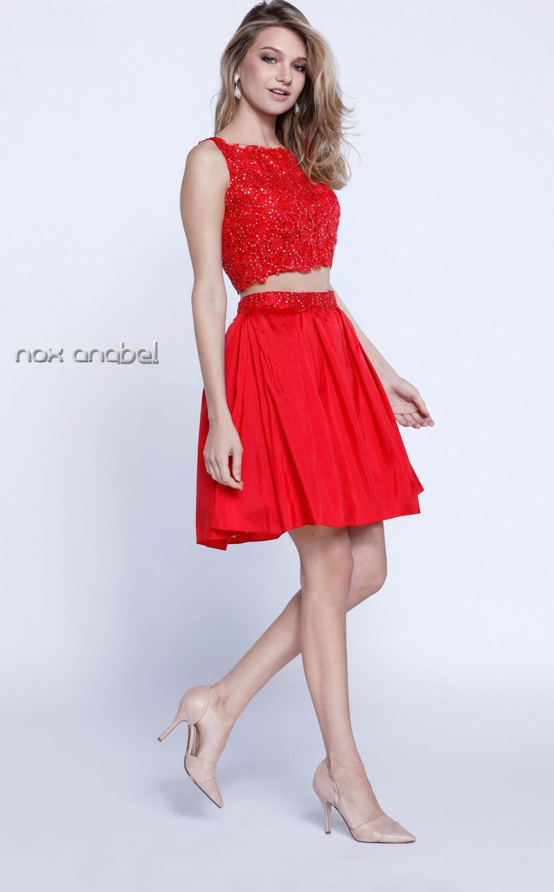 Nox Anabel 6054 Dress Red