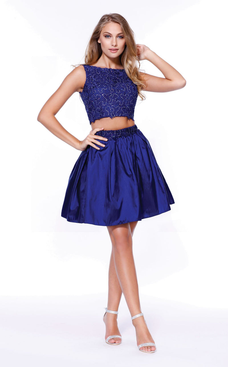 Nox Anabel 6054 Dress Royal-Blue