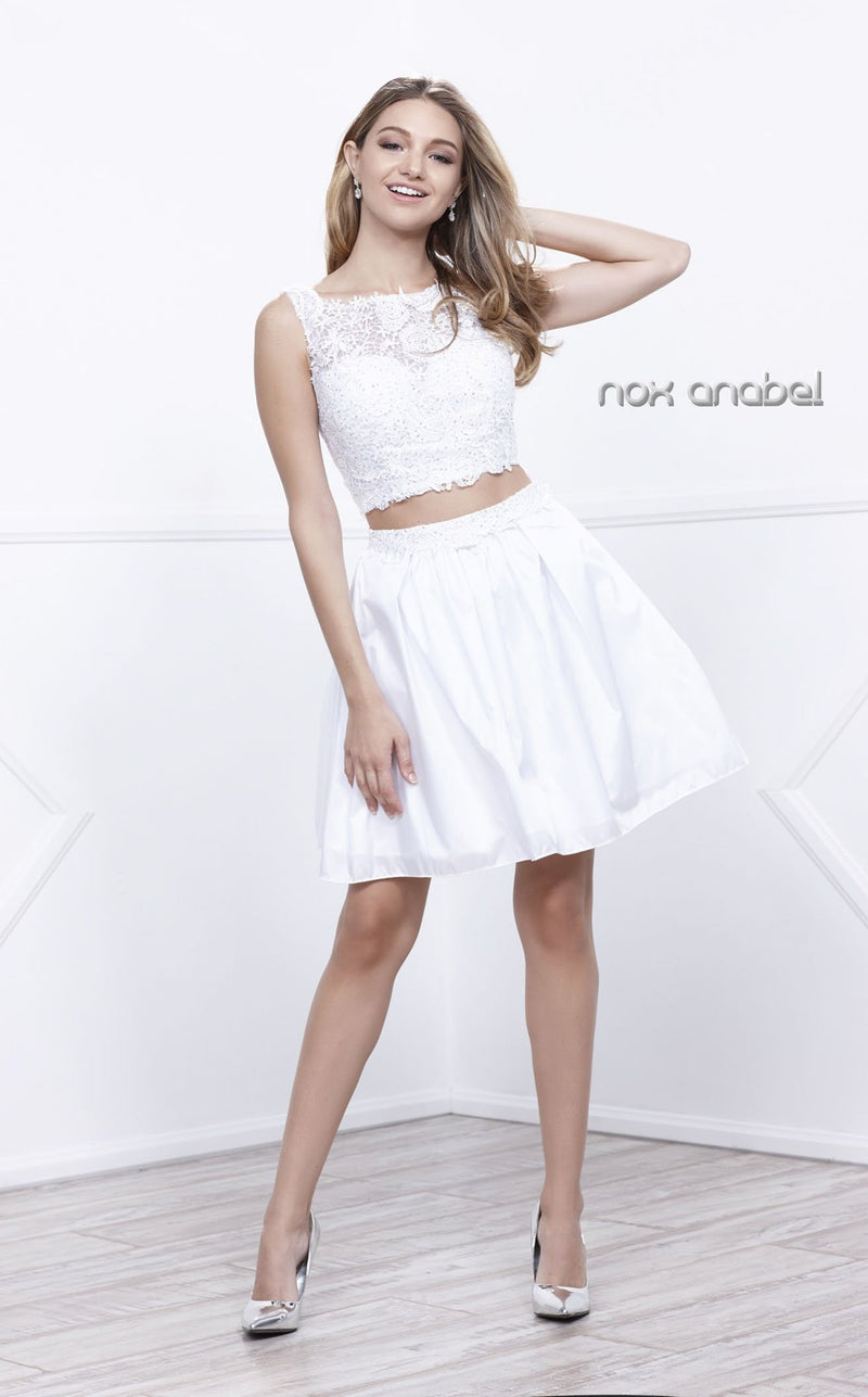 Nox Anabel 6054 Dress White