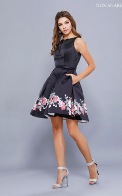 Nox Anabel 6233 Dress Floral-Patterns