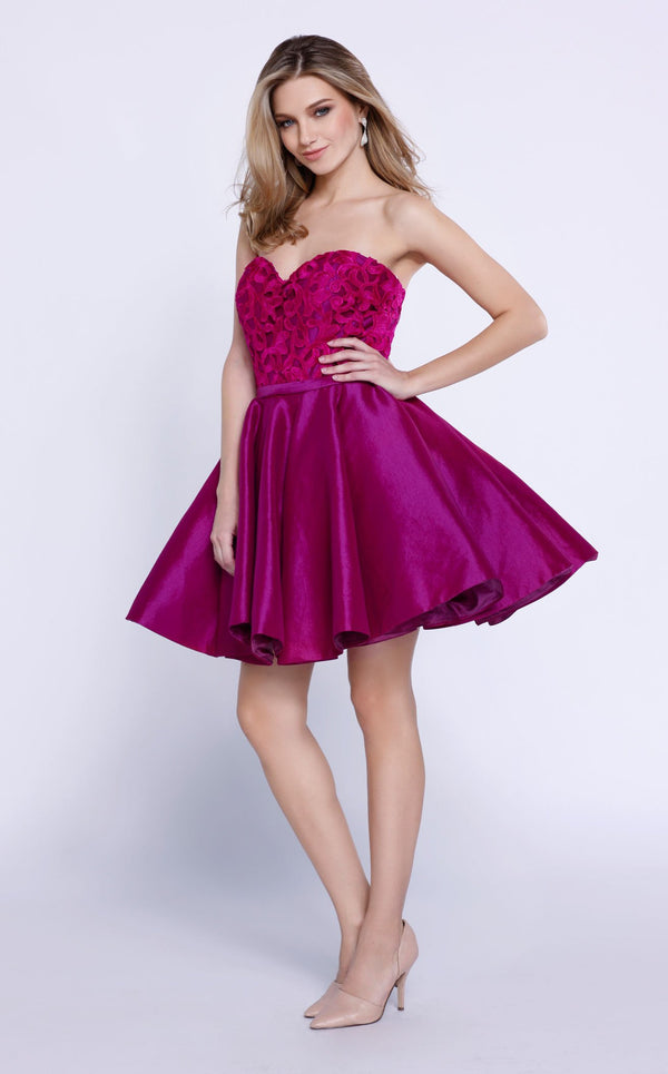 Nox Anabel 6265 Dress Magenta
