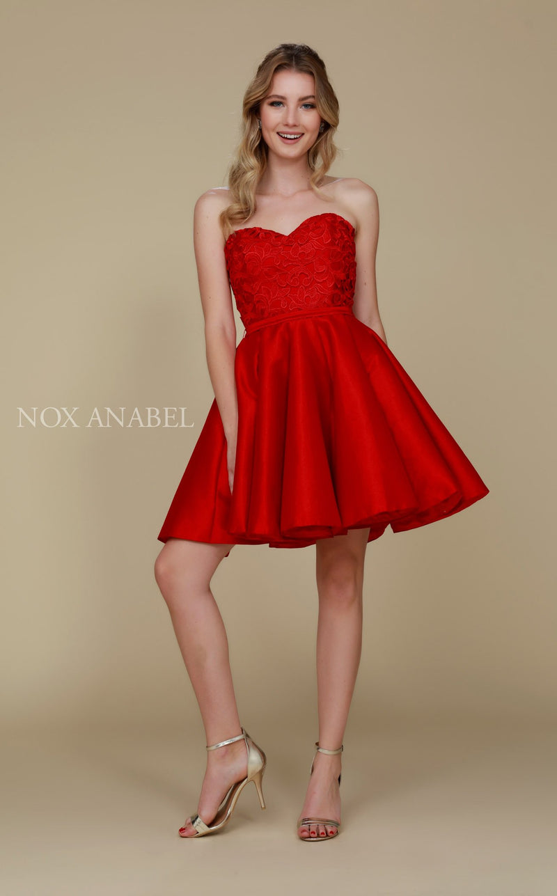Nox Anabel 6265 Dress Red