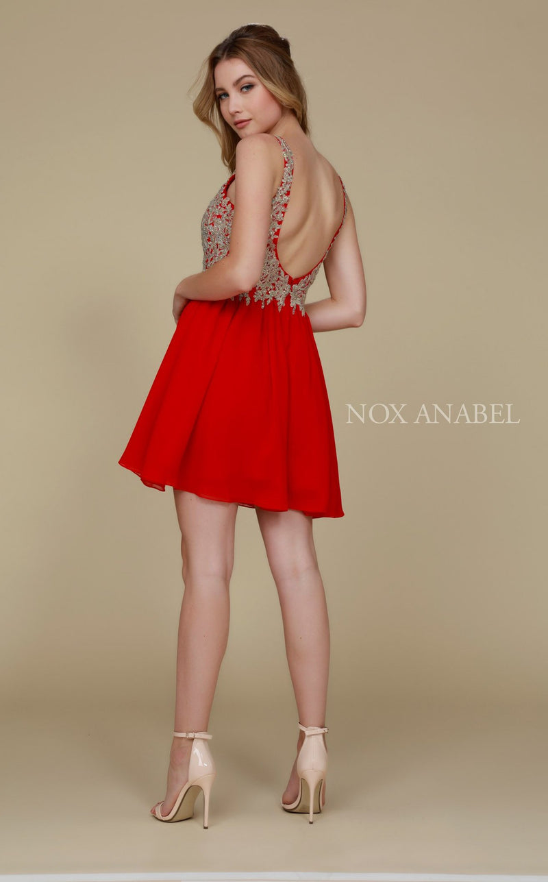 Nox Anabel 6291 Dress Red