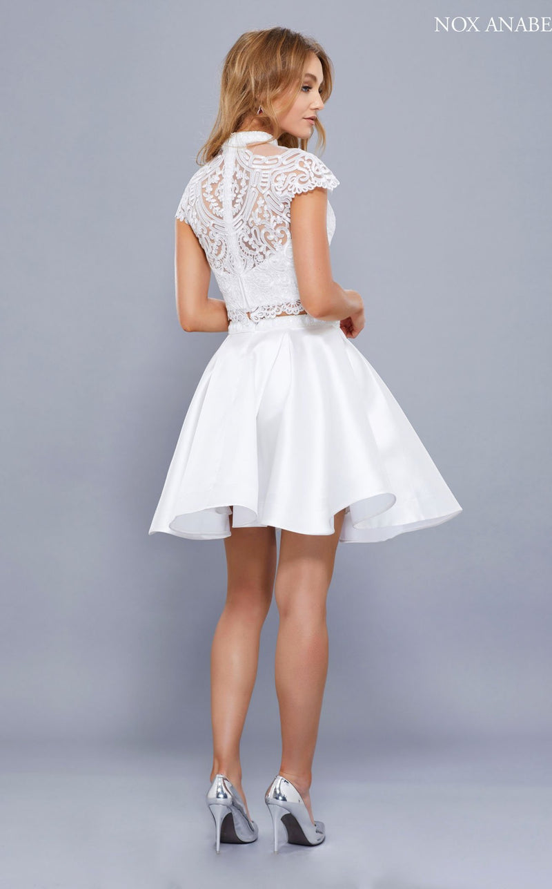 Nox Anabel 6301 Dress White