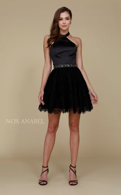 Nox Anabel 6348 Dress Black