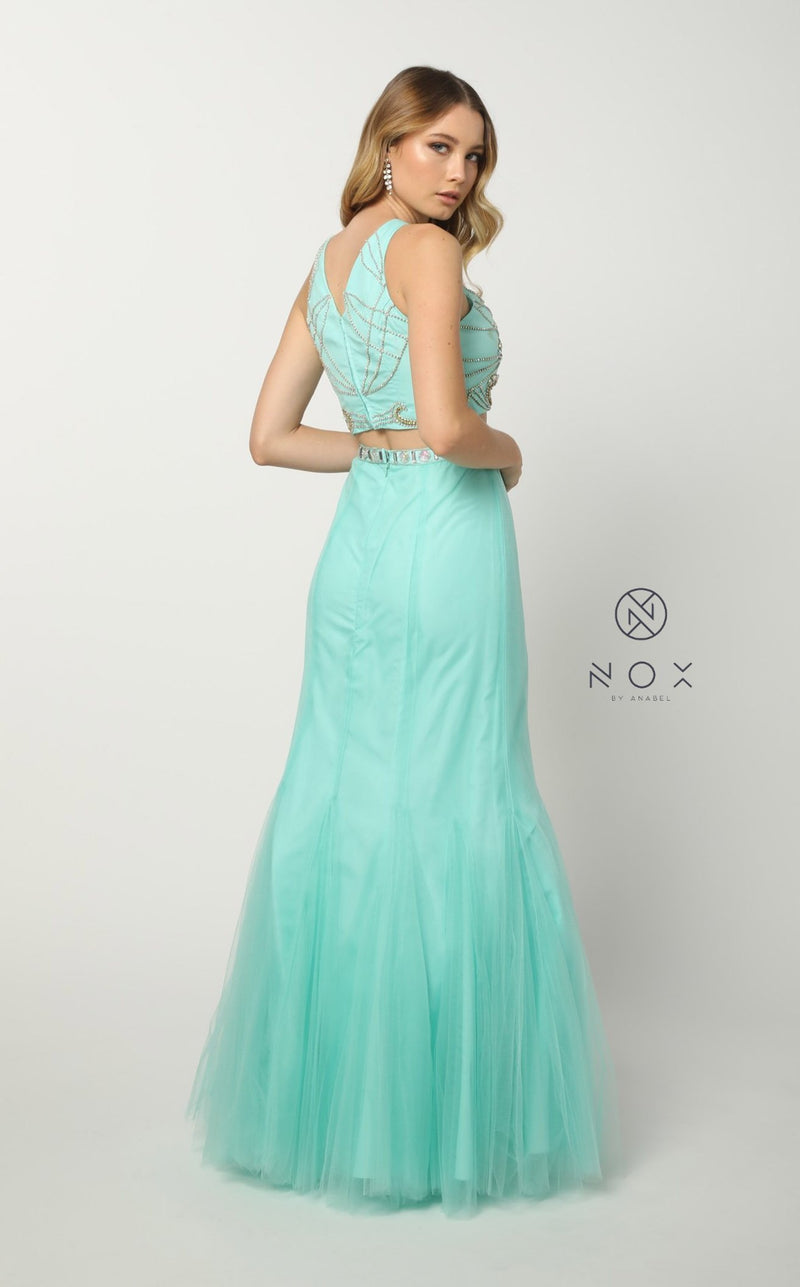 Nox Anabel 8156 Dress Mint-Green