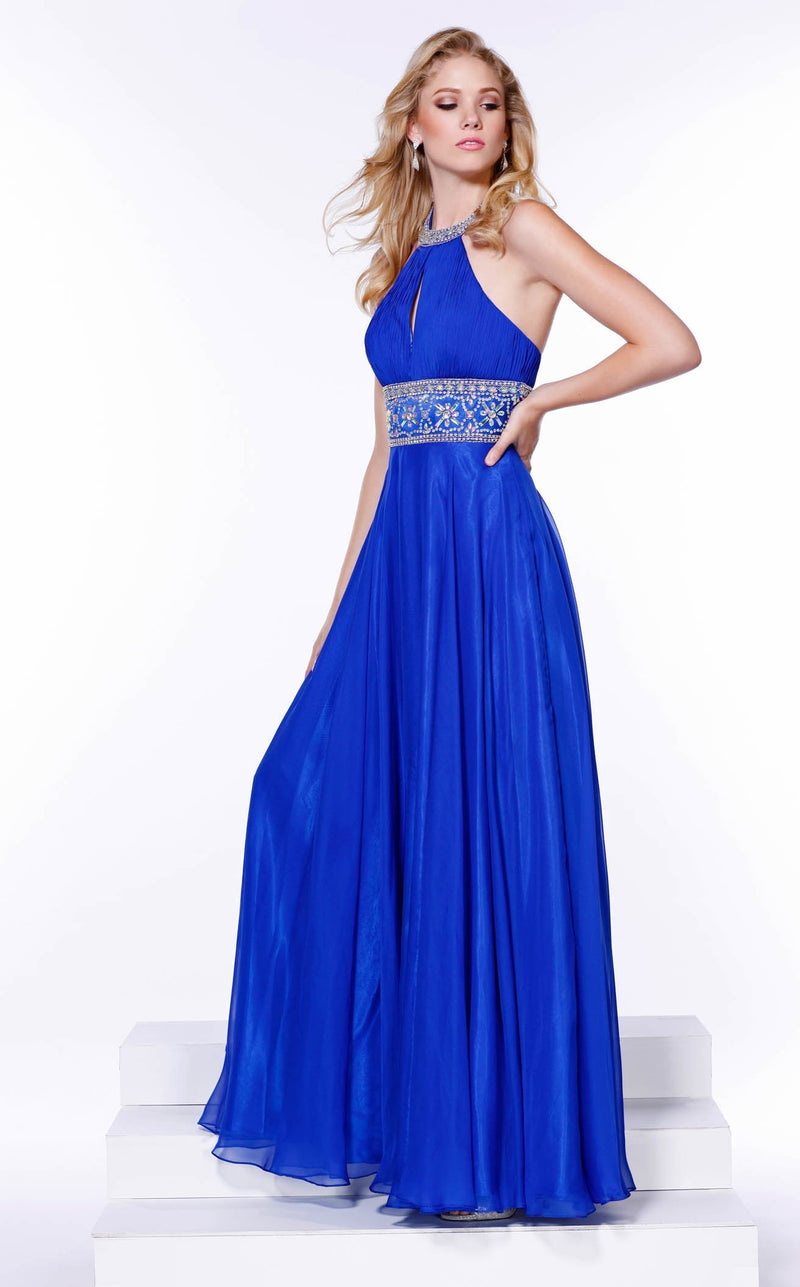 Nox Anabel 8160 Dress Royal-Blue