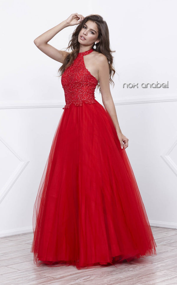 Nox Anabel 8181 Dress Red