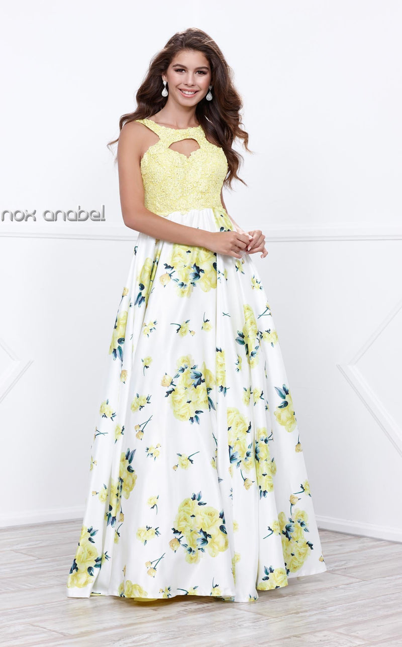 Nox Anabel 8203 Dress Floral-Patterns
