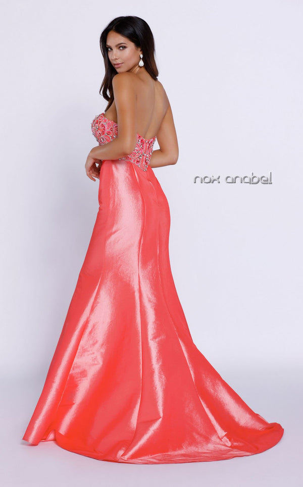 Nox Anabel 8244 Dress Coral