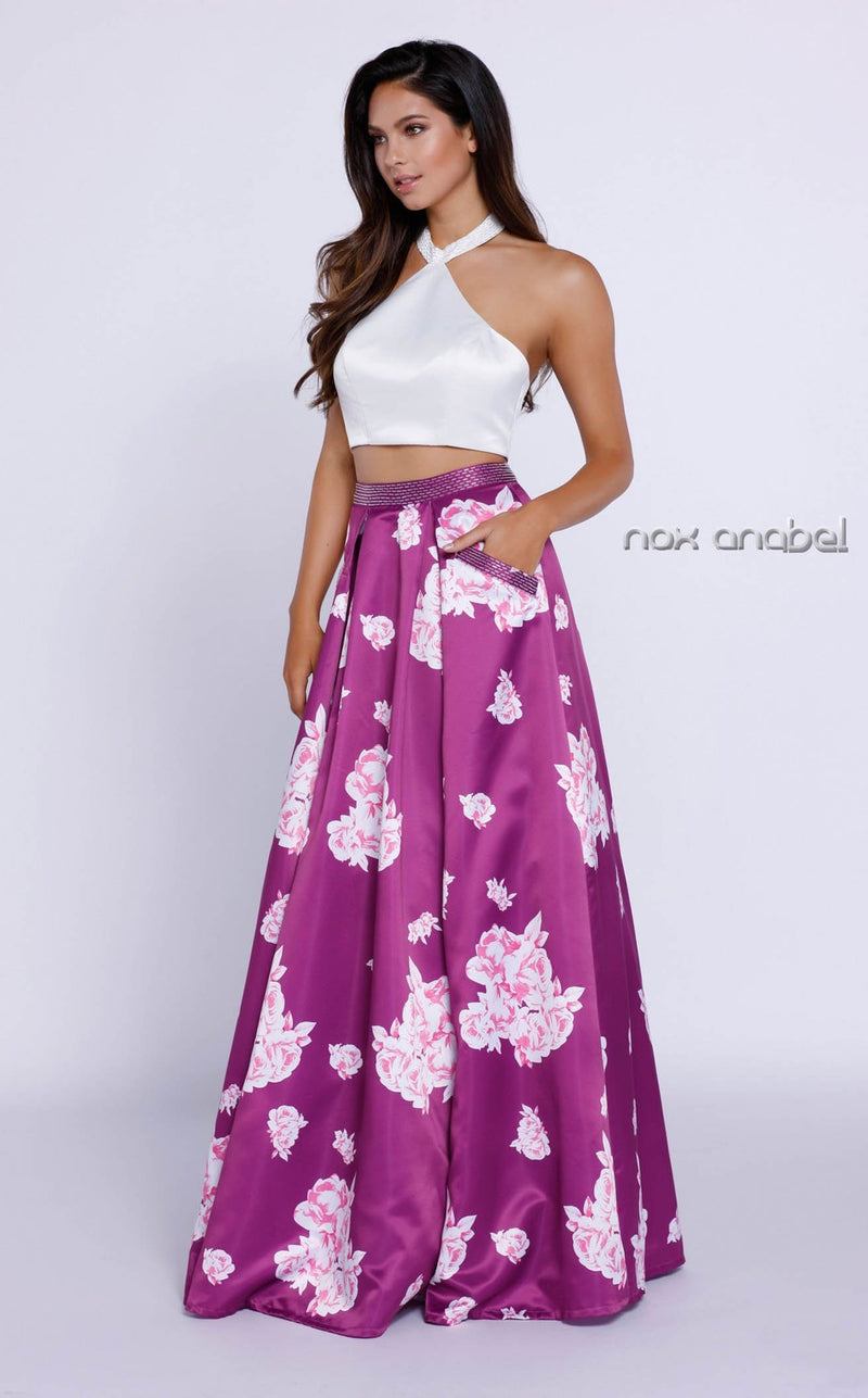 Nox Anabel 8245 Dress Floral-Patterns