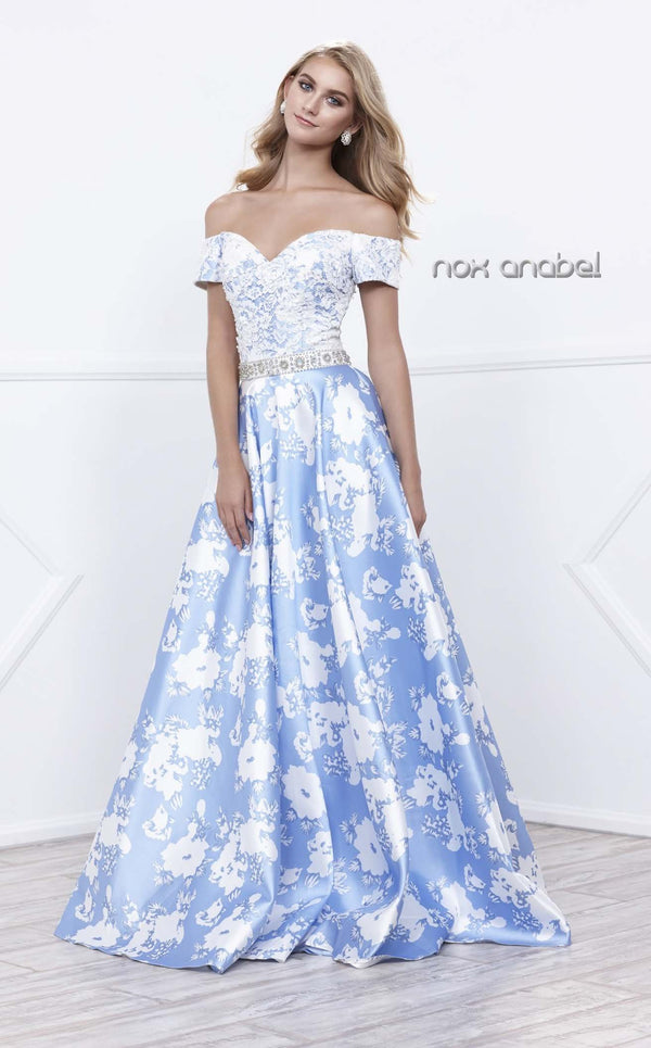 Nox Anabel 8301 Dress Blue