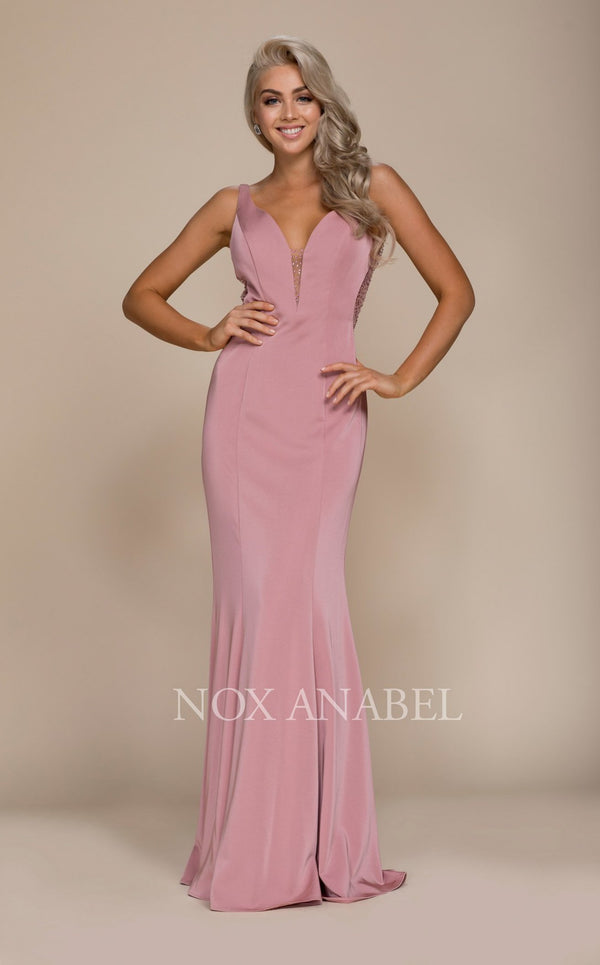 Nox Anabel C001 Dress Mauve