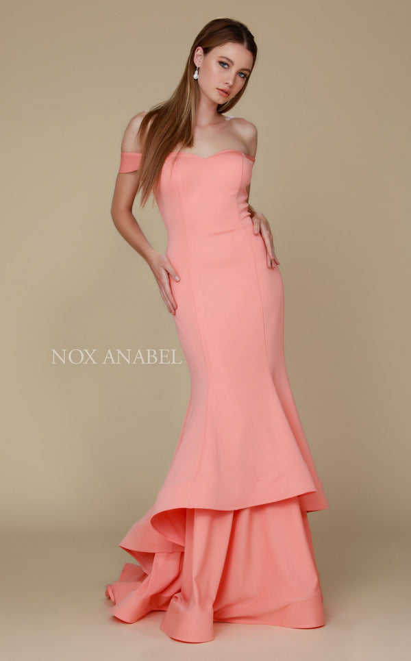 Nox Anabel C028 Dress Coral