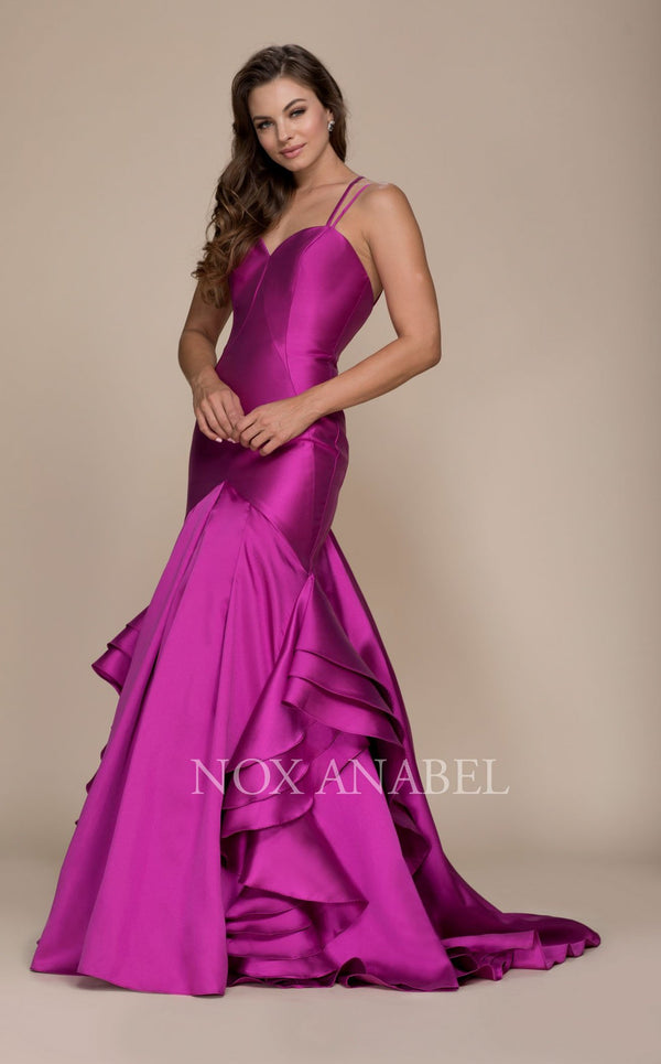 Nox Anabel C034 Dress Magenta