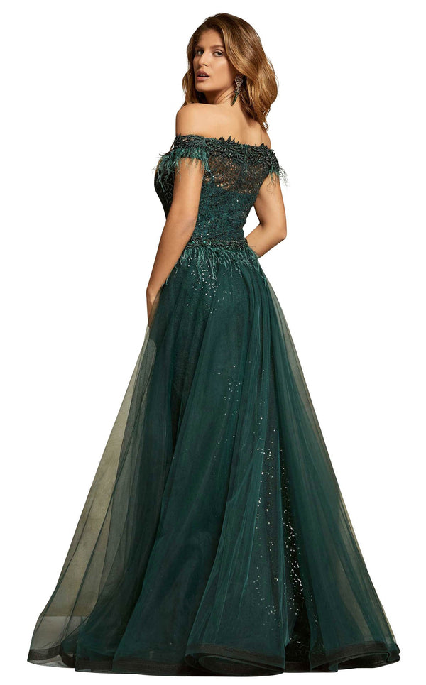 Odrella 5936 Dress Green