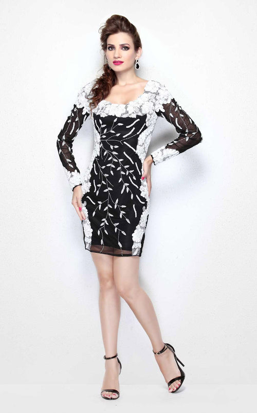 Primavera Couture 1603 Black White