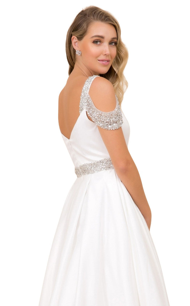 Nox Anabel R224 Dress White
