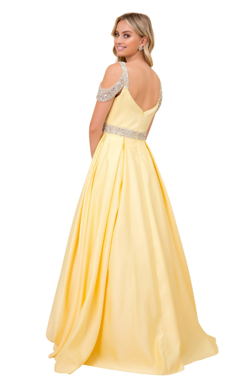 Nox Anabel R224 Dress Yellow