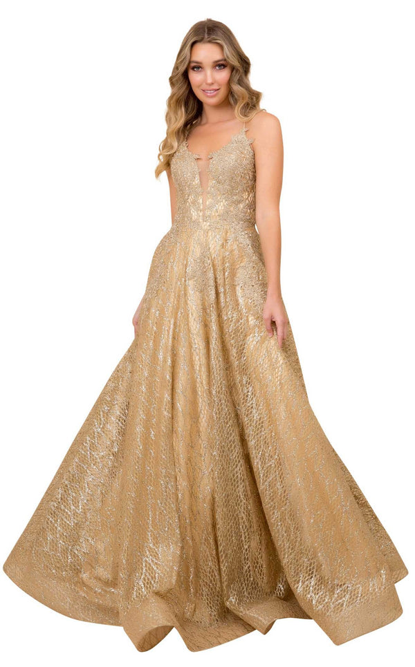 Nox Anabel R349 Dress Gold