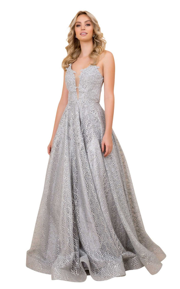 Nox Anabel R349 Dress Silver
