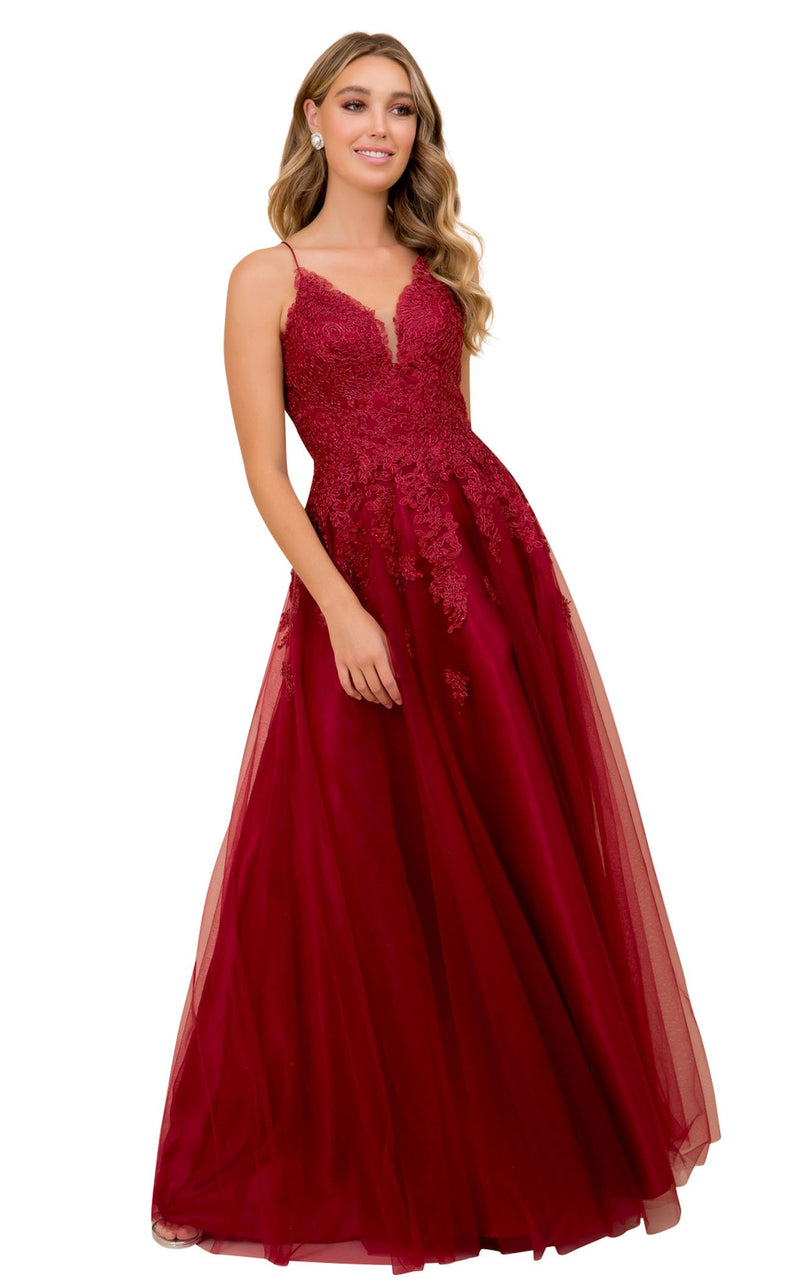 Nox Anabel R351 Dress Burgundy